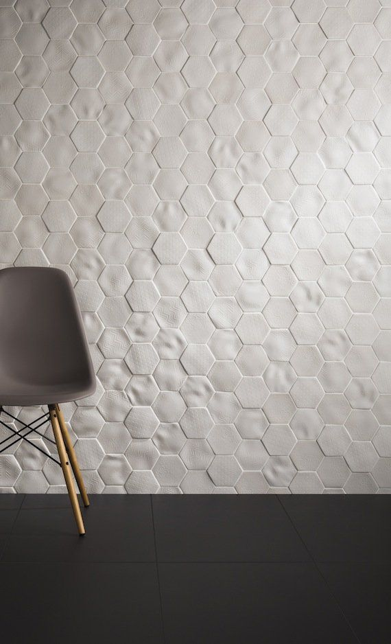 Absolute Selene by Johnson Tiles  love the white textured tiles Pinteres