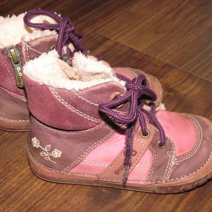 e73feb6de08 Zimní kožené boty D.D.Step vel.24 z bazaru za 170 Kč