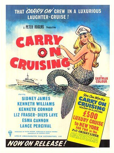 carry on cruising movie poster fun movies pinterest