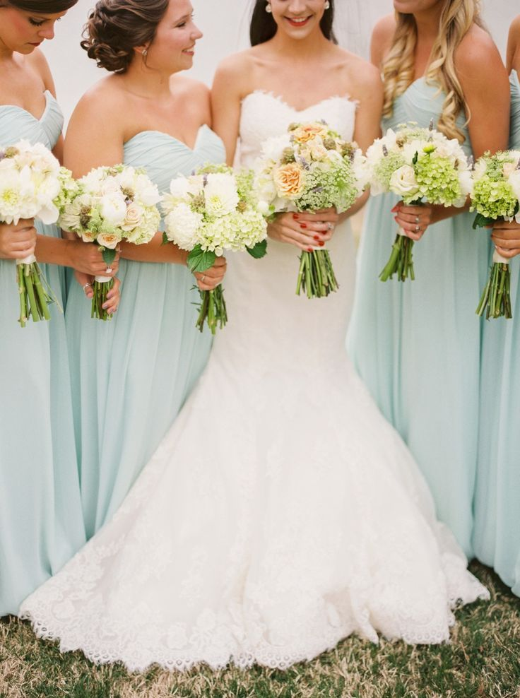 40 Romantic and Timeless Green Wedding Color Ideas   Mint green ...