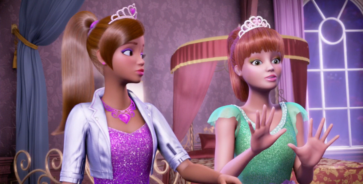 Barbie in Rock'n Royals - Princess Genevieve and Princess ...