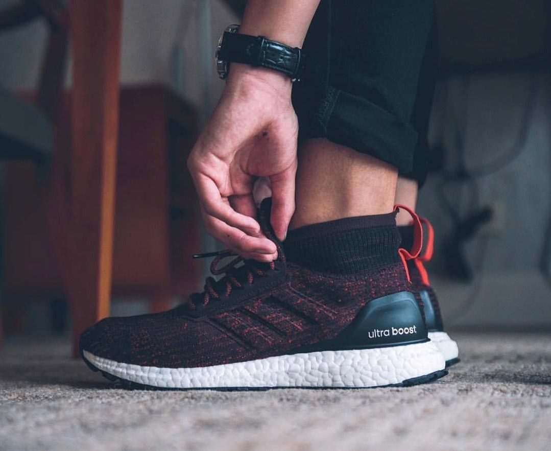 a20860abcf3 Your First On Foot Look At The adidas Ultra Boost ATR Mid Primeknit ...
