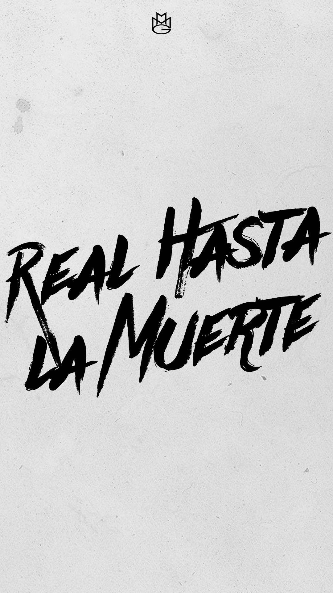 REAL HASTA LA MUERTE VINYL STICKER