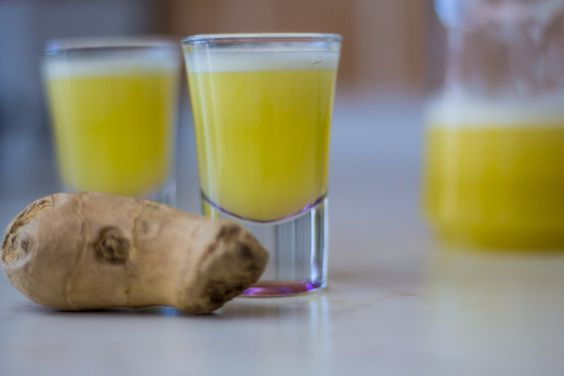 Boost your immune system with a shot per day! Wait. Not that shot - with a ginger shot, you silly! Discover the recipe inside!