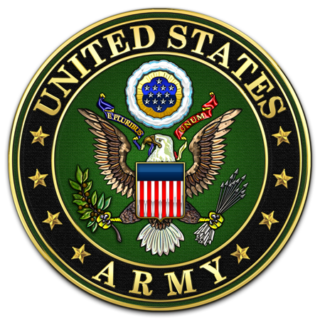 United States Army Embossed Tin Metal Sign This We/'ll Defend U.S - Strong