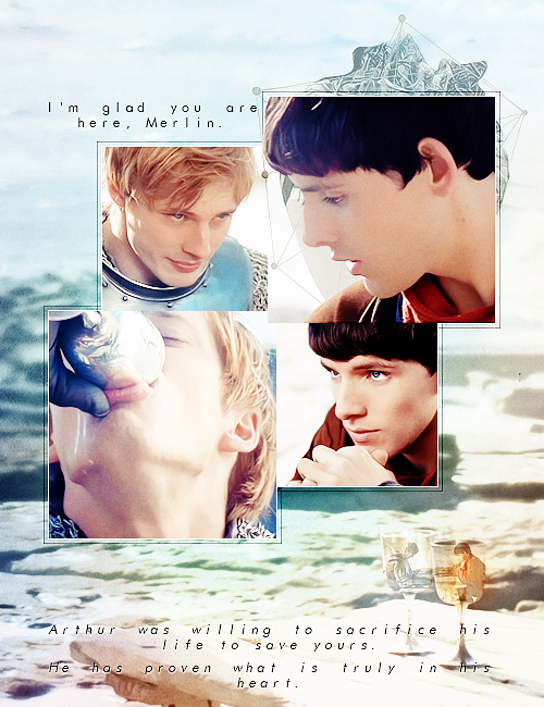 """""""I'm glad you're here, Merlin."""""""