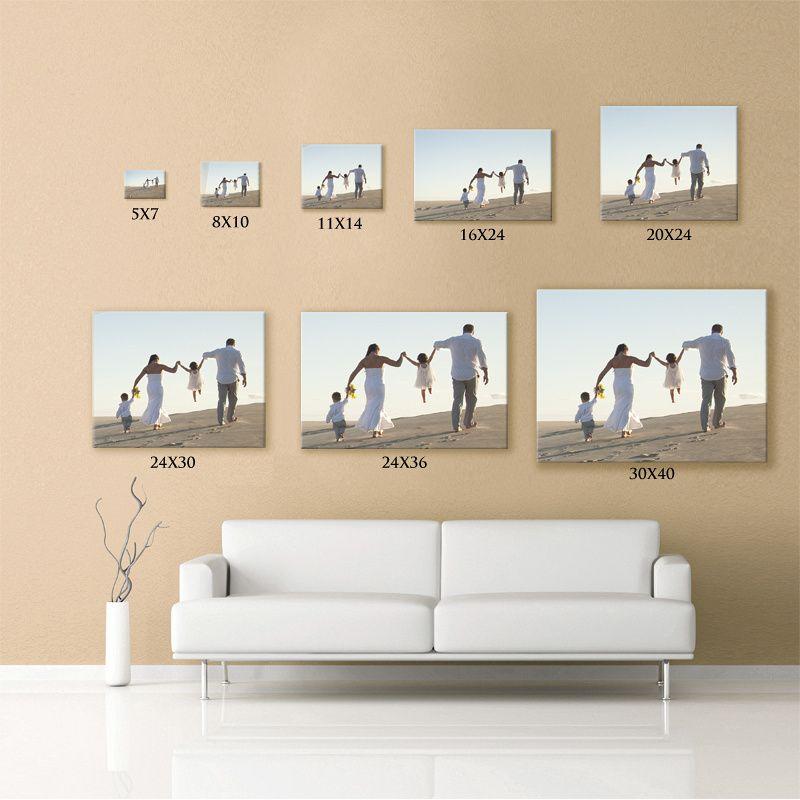 Print size comparison chart Prints, Photography, Photo
