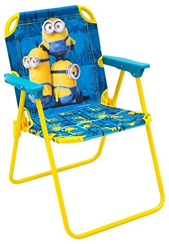 Kidsu0027 Outdoor Chairs   Minions Patio Chair ** Click On The Image For  Additional