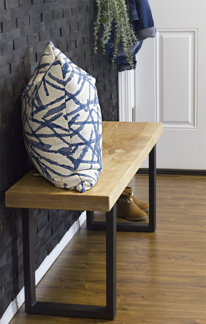 Surprising How To Build An Industrial Modern Wood Bench Furniture Customarchery Wood Chair Design Ideas Customarcherynet