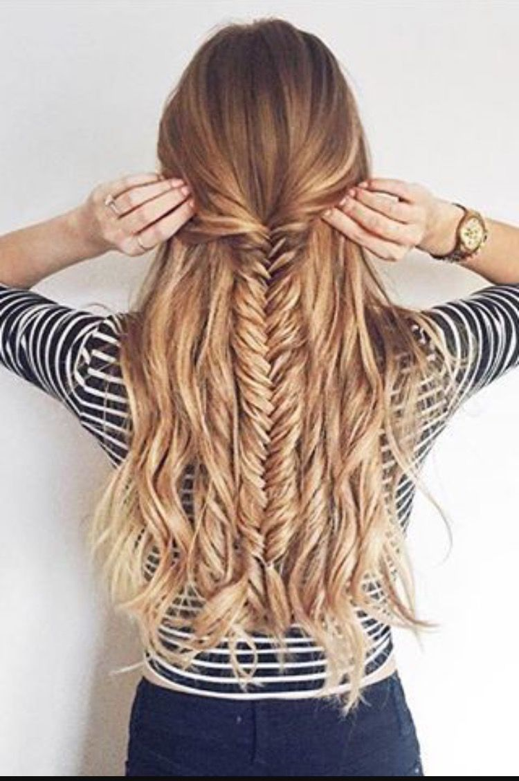 Half Up Fishtail Check Out Cute Girls Hairstyles For More