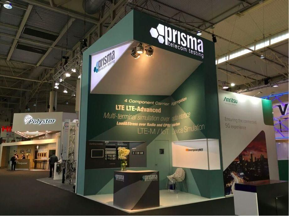 Stand prisma mwc creative stand design pinterest for Arquitectura y diseno stands 8 pdf