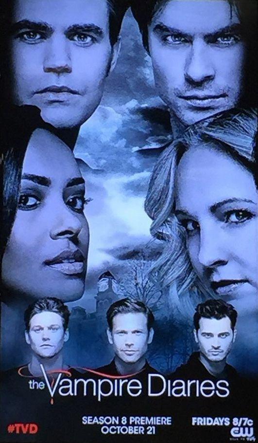 Tvd The Vampire Diaries Season 8 Stefan Paul Damon Ian Bonnie
