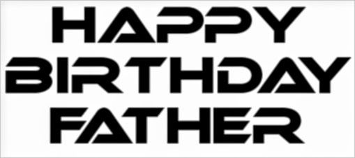 Happy Birthday Father Ecard Family Birthdays Ecards E Cards