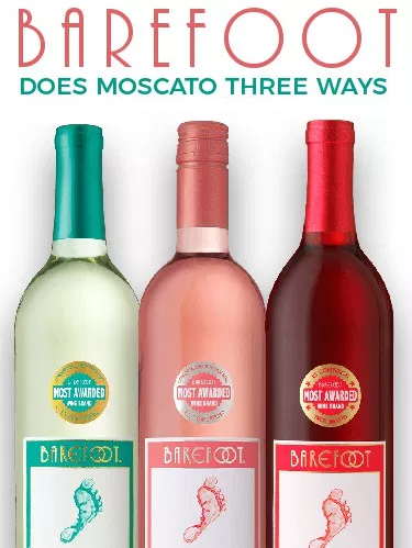 Barefoot Pink Moscato Label : barefoot, moscato, label, Barefoot, Moscato, Wines, Wine,, Recipes,