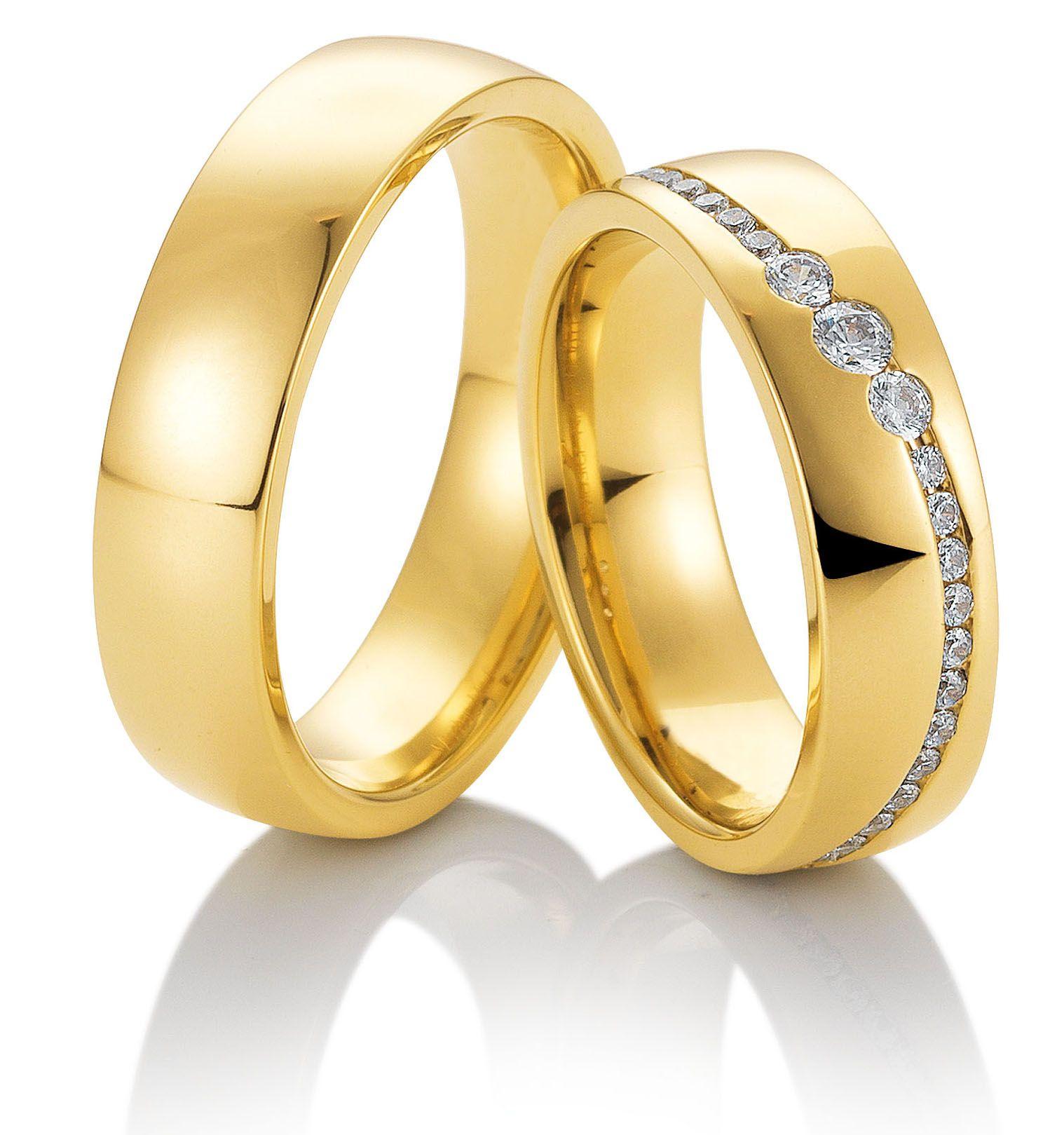 Eheringe Trauringe 49 81553 Gelbgold 585 Gold Jewelry Jewels