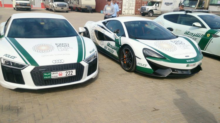 The Amazing Cars of the Dubai Police Force