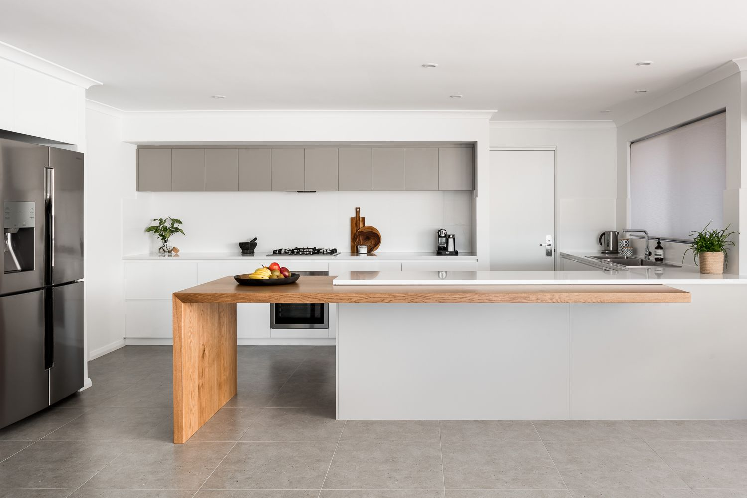 We renovated this kitchen from a 1990\'s design to a contemporary ...