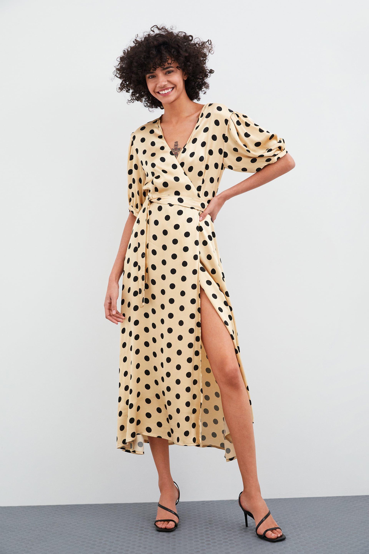 afbc81aead83 Polka dot wrap dress in 2019 | things i want to buy | Wrap dress ...