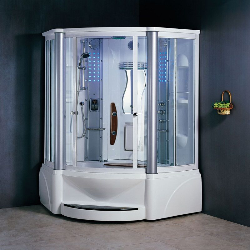 Mesda WS 608A Steam Shower With Jacuzzi ~ http://lanewstalk.com/feel ...