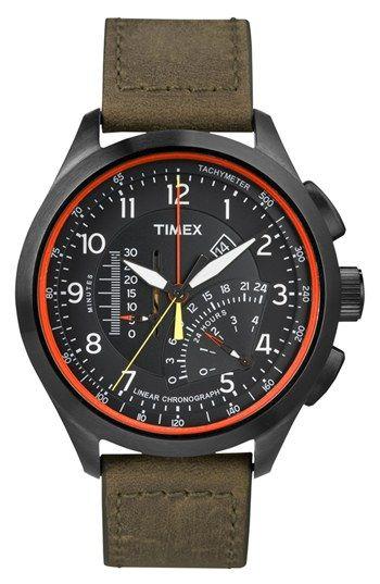 gift for boyfriend!!! Timex®  Intelligent Quartz  Linear Chronograph ... a25e26db34