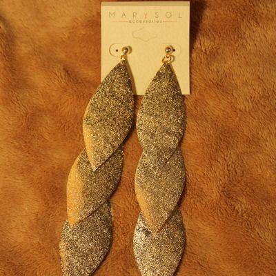 gold or silver earrings #dmsstudio
