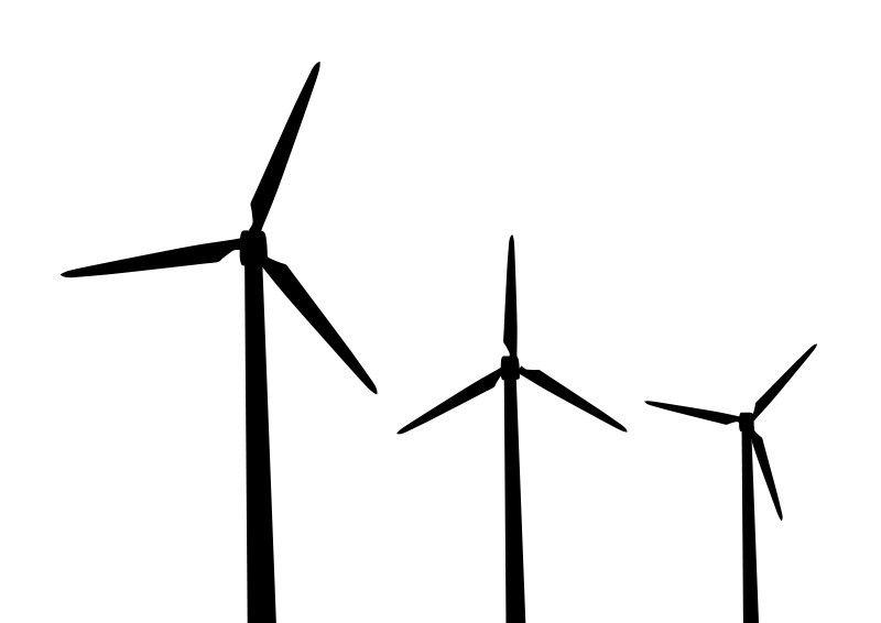 Windmills Vector Silhouettes Windmill Windmill Tattoo Silhouette