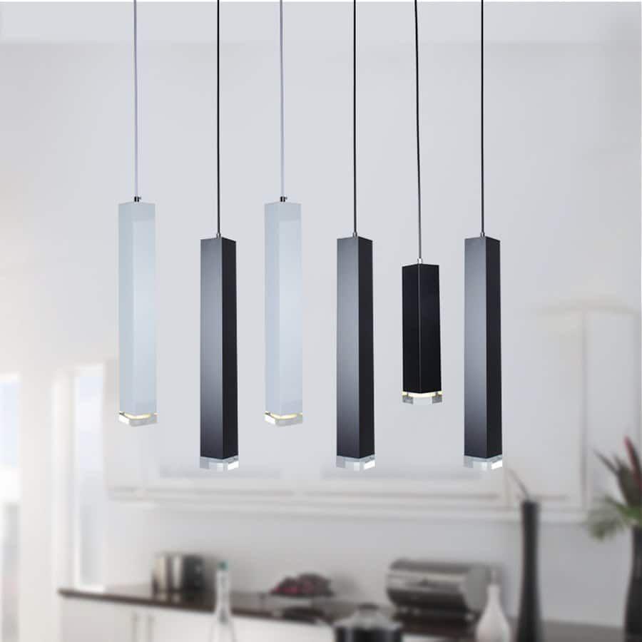 Squared Mini Pendant Led Light Pendant Lamp Led Pendant Lights Bar Pendant Lights