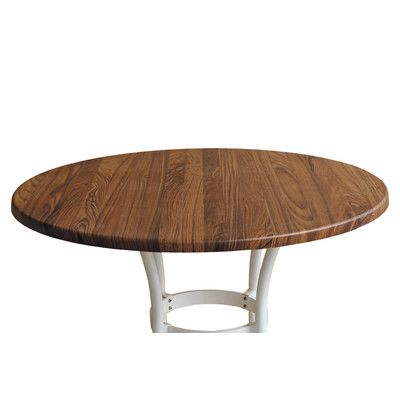 Source Contract Duratop Round Table Top Finish Teak Table Size 28 Tempered Glass Table Top Round Table Top Butcher Block Table Tops