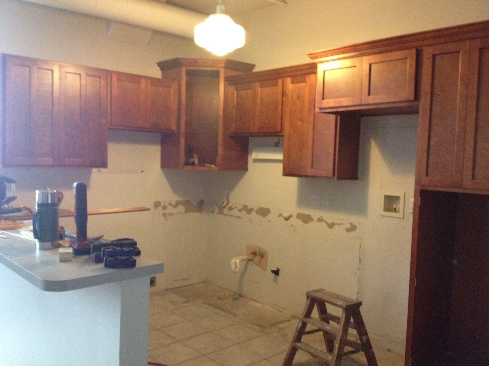 New beautiful cabinetry set installation #BridgeviewApartments