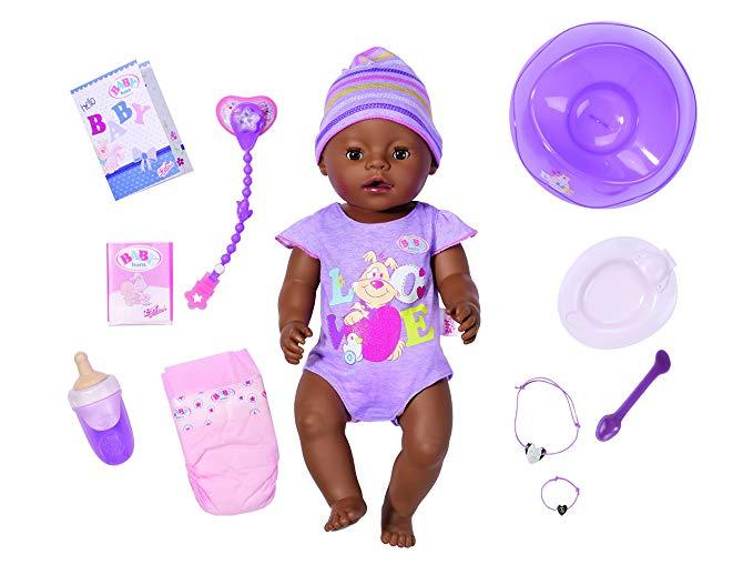 New Baby Born Interactive Talking Moving Crying Wetting Eating And Drinking Baby Doll New Baby Products Baby Born Baby Dolls