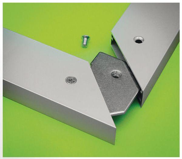 Corner Connectors For Aluminum Frames Metal Furniture Steel