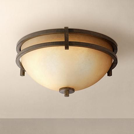 This classic ceiling light from franklin iron works is a welcome addition to your home wide x 6 high takes three maximum 60 watt standard base bulbs not