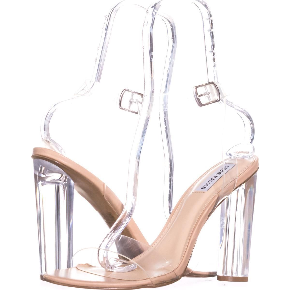 6e501f1c8ee Steve Madden Teena Ankle Strap Sandals  stevemadden  clear  heels  sandals   anklestrap  translucent  nudeheels  shoes  shopping  style  trend  fashion  ...