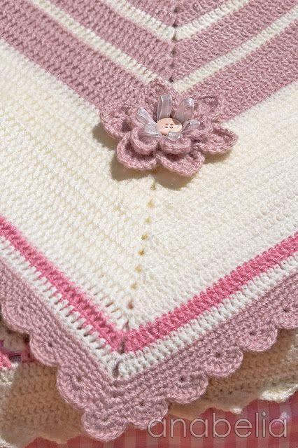 Baby blanket Sara