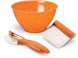 Rachael Ray 3-pc. Garbage Bowl Set: Orange at Rachael Ray Store