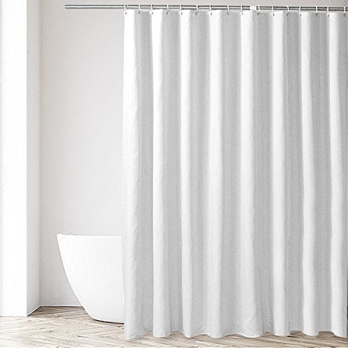Eforgift Shower Stall Curtain Liner Polyester Fabric Waterproof