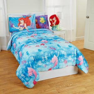 The Little Mermaid Bedding Full Comforter Set