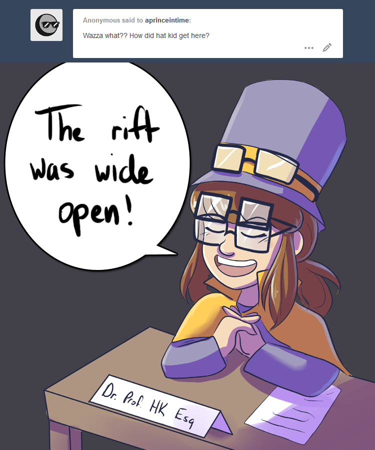 Aprinceintime And The Mess With Dj Grooves And The Conductor Was Pretty Easy To Fix A Hat In Time Hat In Time A Hat In Time Conductor