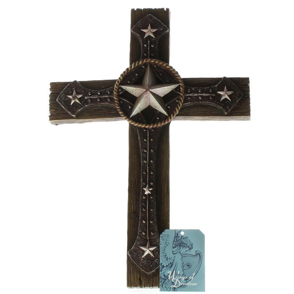 Rustic Cowboy Wall Cross