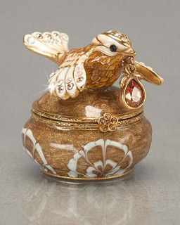Ellery Bird Trinket Box