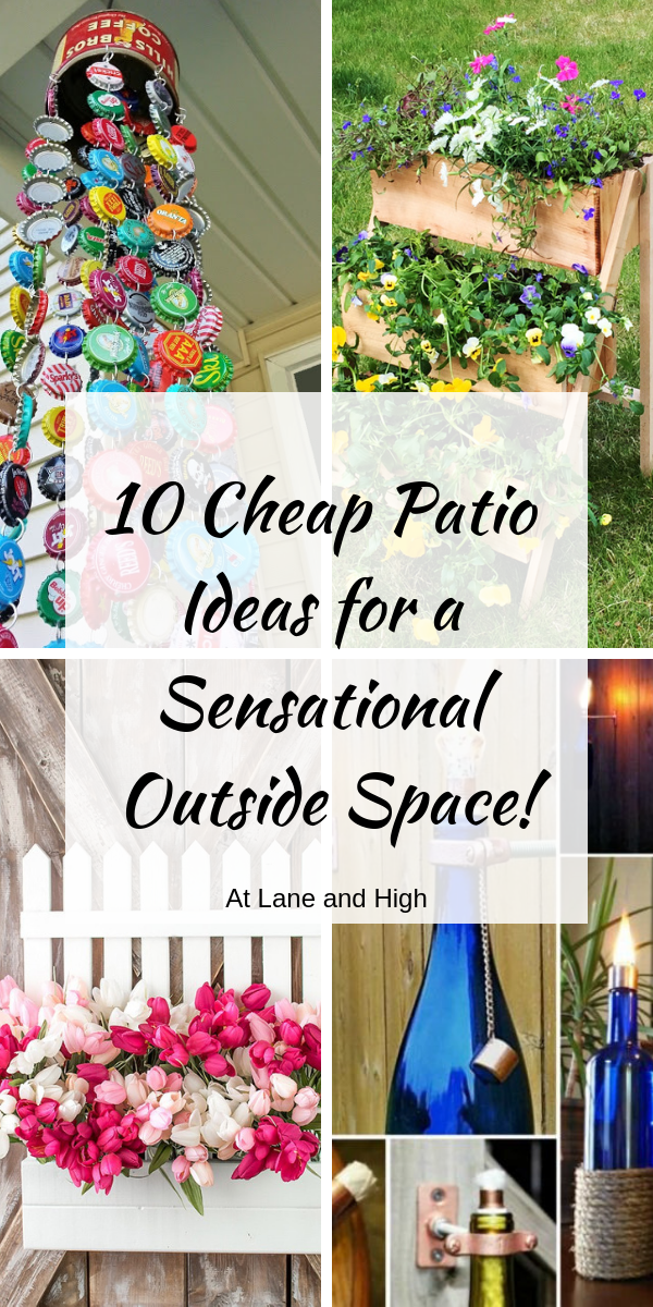 10 Cheap Patio Ideas for a Sensational Outside Space