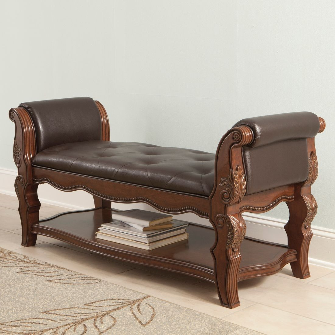 Bedroom bench with arms - Bench Bedroom Furniture 1000 Images About Benches On Pinterest North Shore Furniture And Dark Brown