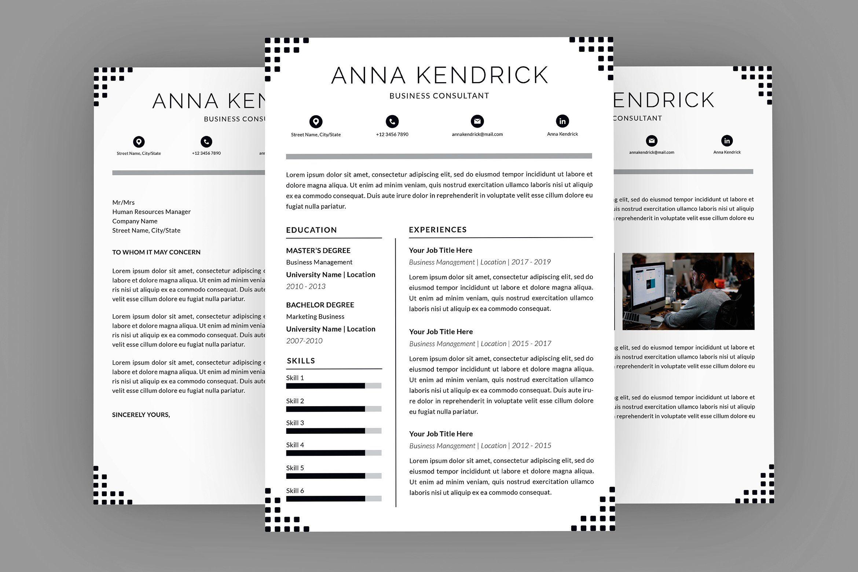 Consultant anna resume designer resume resume templates