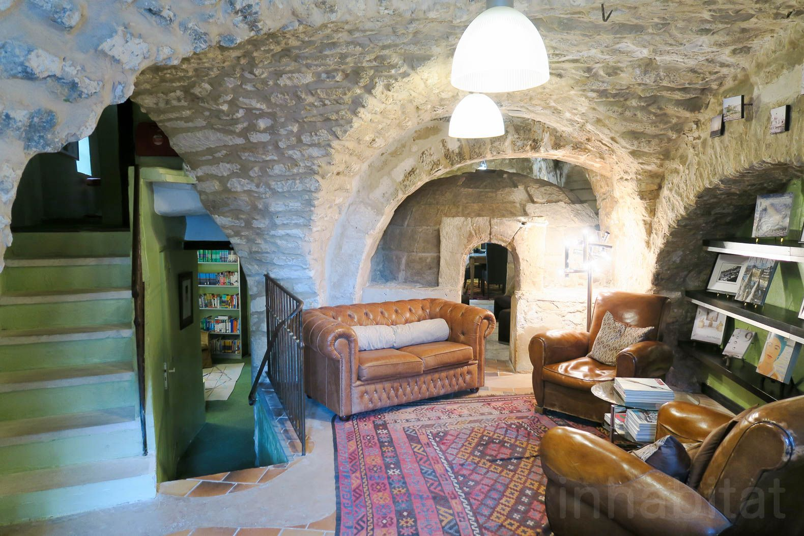 Medieval village ruins converted into an art school unveil past secrets