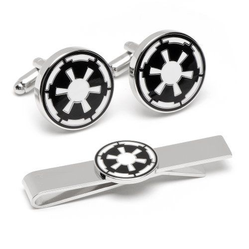 Star wars boutons de manchette de l/'empire Star wars Imperial metal cufflinks