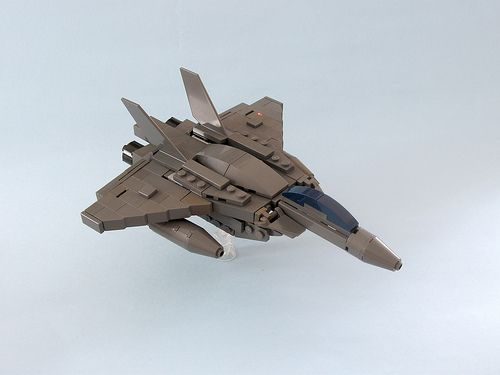 Fighter prototype by Wiseman_Lego http://www.flickr.com/photos/26690373@N08/8641570017/in/photostream
