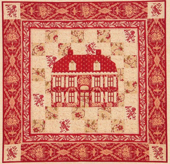 MAISON DE GARANCE Quilt Pattern French General by astymegoesby, $14.00