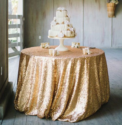 Pin By Hilda Esquivel On Gray And Gold Wedding In 2020 Gold Sequin Tablecloth Sequin Tablecloth Gold Tablecloth