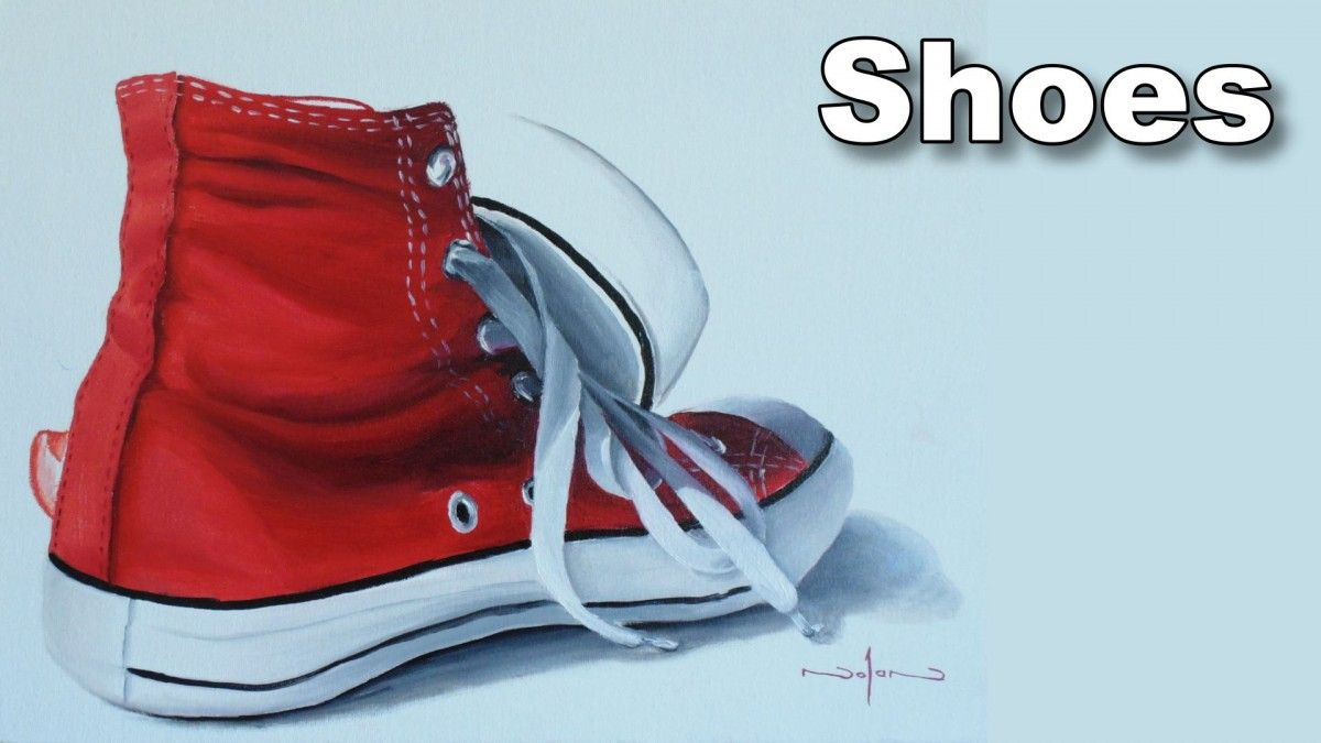 How To Paint Shoes In Oil Painting Lessons Painted Shoes Oil Painting Classes