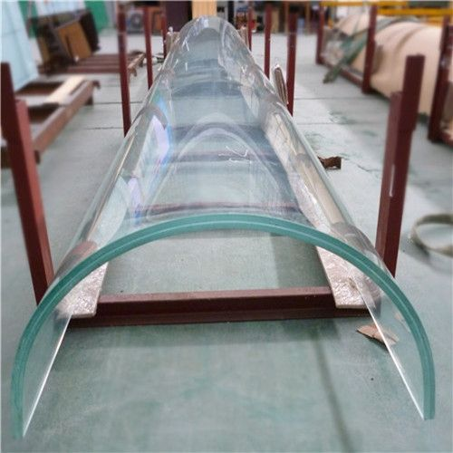 38689e484ab7 Jumbo size 21.52mm SGP low iron toughened laminated curved glass ...